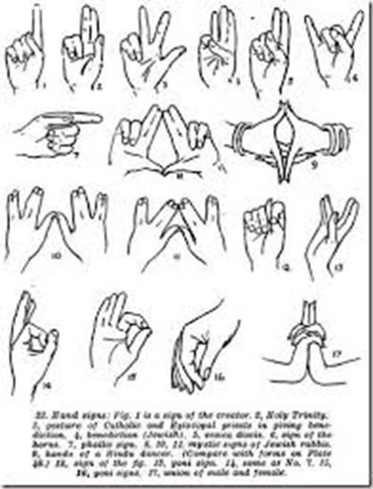 Image result for satanic hand signs and meanings