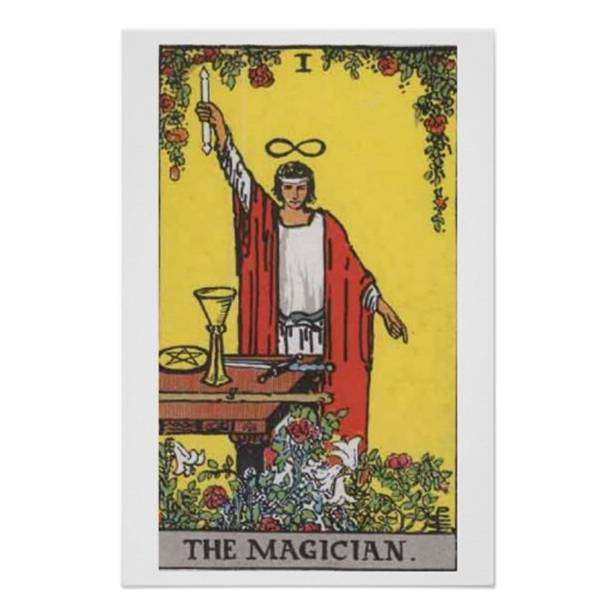 The Magician Tarot Card Poster